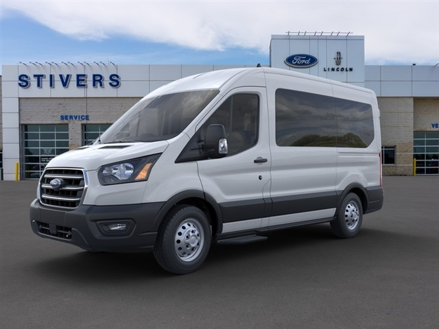 2020 Ford Transit 150 Med Roof AWD, Passenger Wagon #F02344 - photo 1