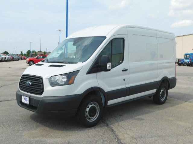 2018 Transit 250 Med Roof 4x2,  Empty Cargo Van #F81082 - photo 4