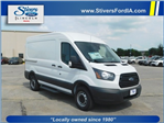 2018 Transit 250 Med Roof 4x2,  Empty Cargo Van #F81082 - photo 1