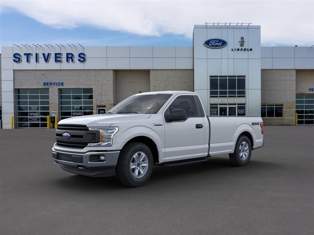 2020 Ford F-150 Regular Cab 4x4, Pickup #K01299 - photo 1