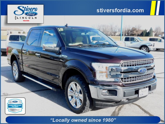 2018 F-150 SuperCrew Cab 4x4,  Pickup #K82077 - photo 1