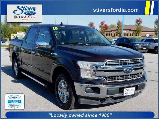 2018 F-150 SuperCrew Cab 4x4,  Pickup #K82094 - photo 1