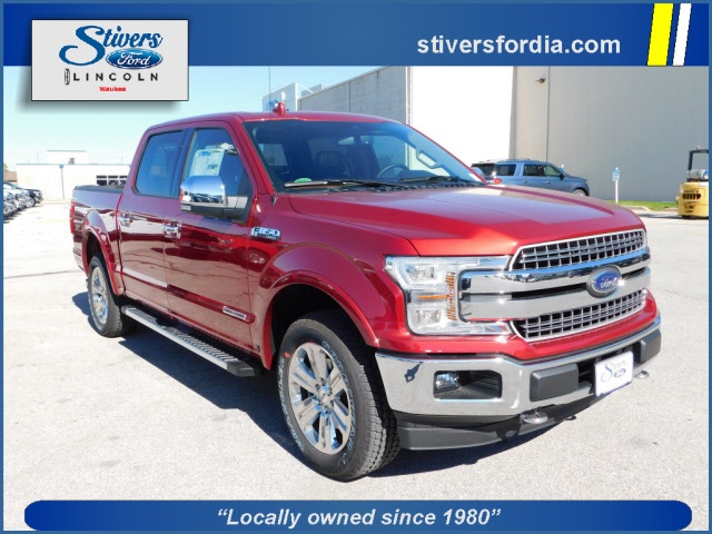 2018 F-150 SuperCrew Cab 4x4,  Pickup #K82111 - photo 1