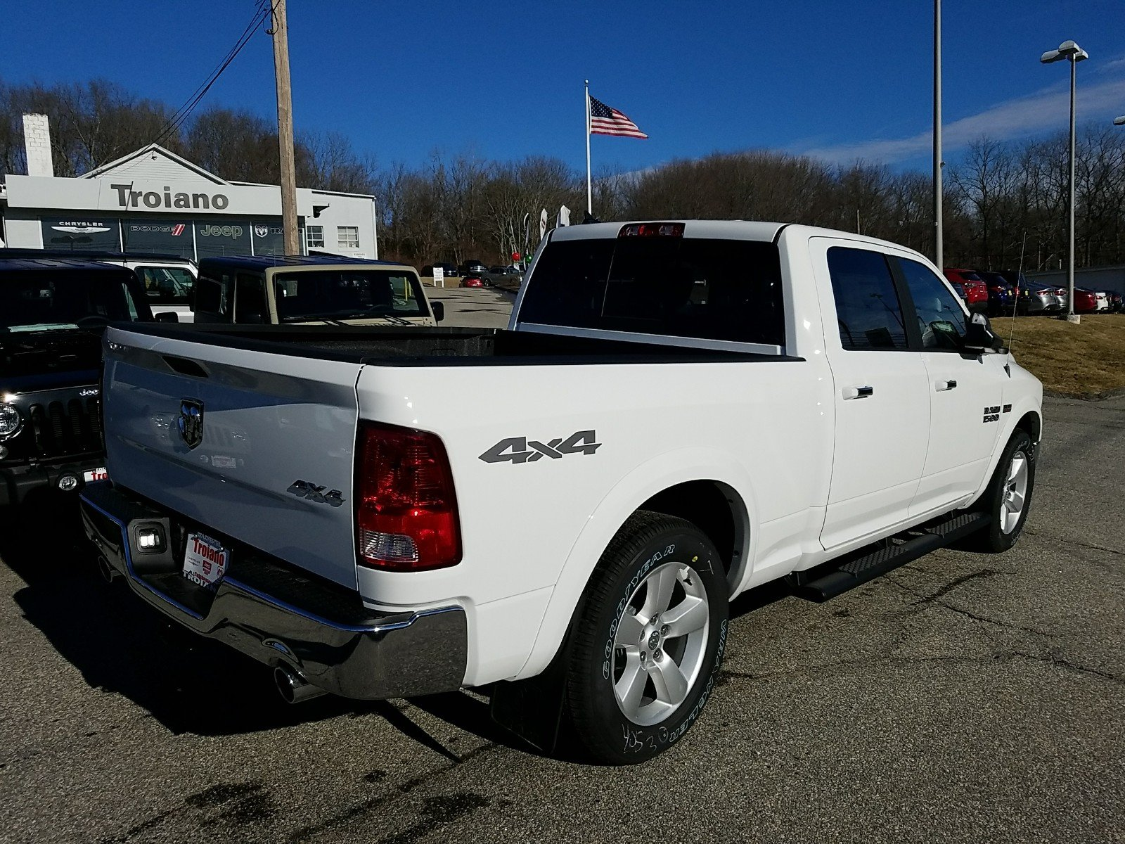 2018 Ram 1500 Crew Cab 4x4, Pickup #R1444 - photo 2