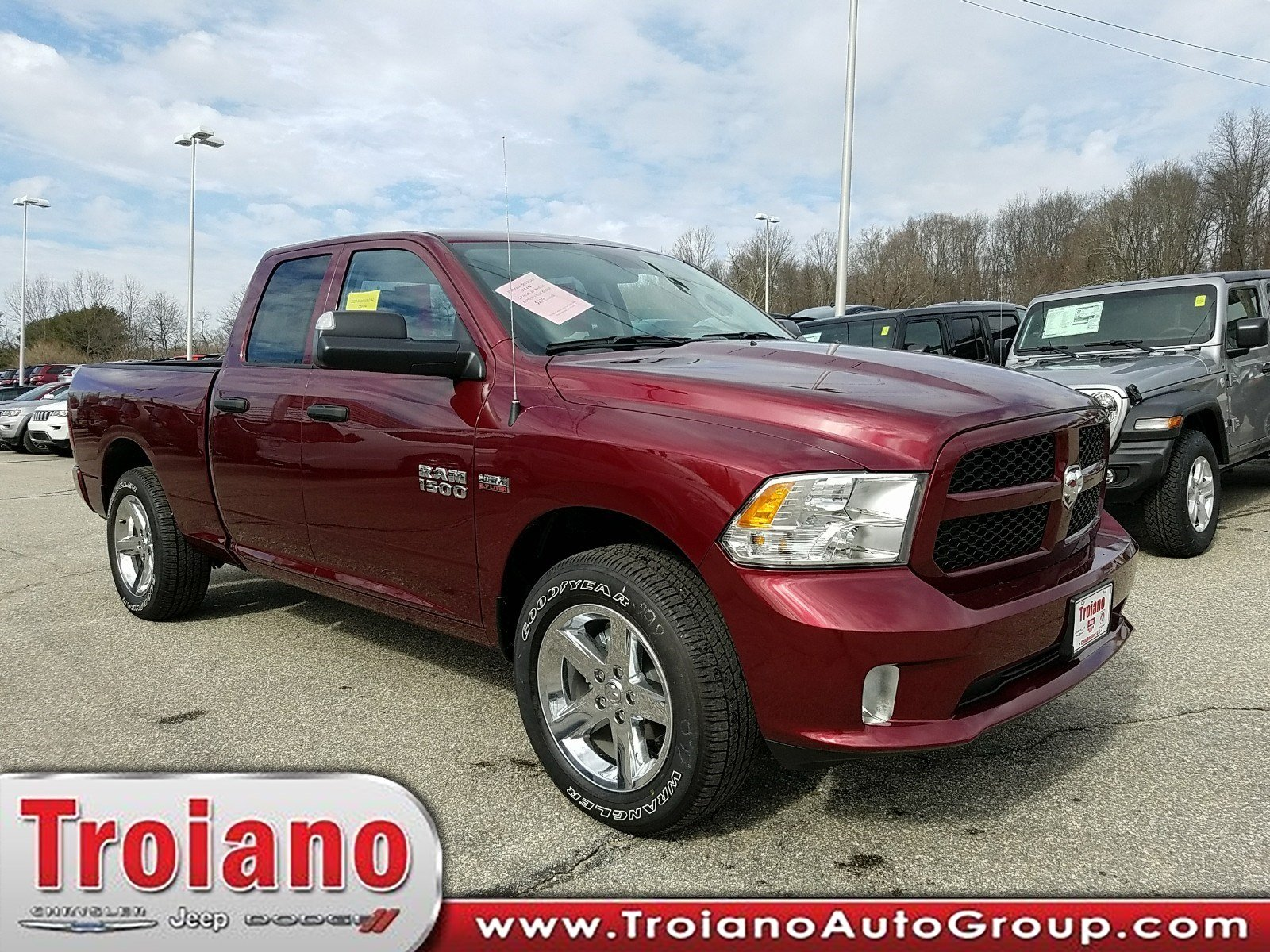 2018 Ram 1500 Quad Cab 4x4,  Pickup #R1469 - photo 1