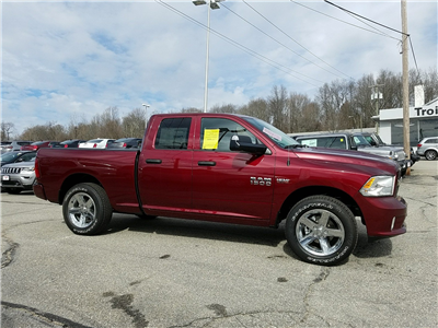 2018 Ram 1500 Quad Cab 4x4,  Pickup #R1469 - photo 3