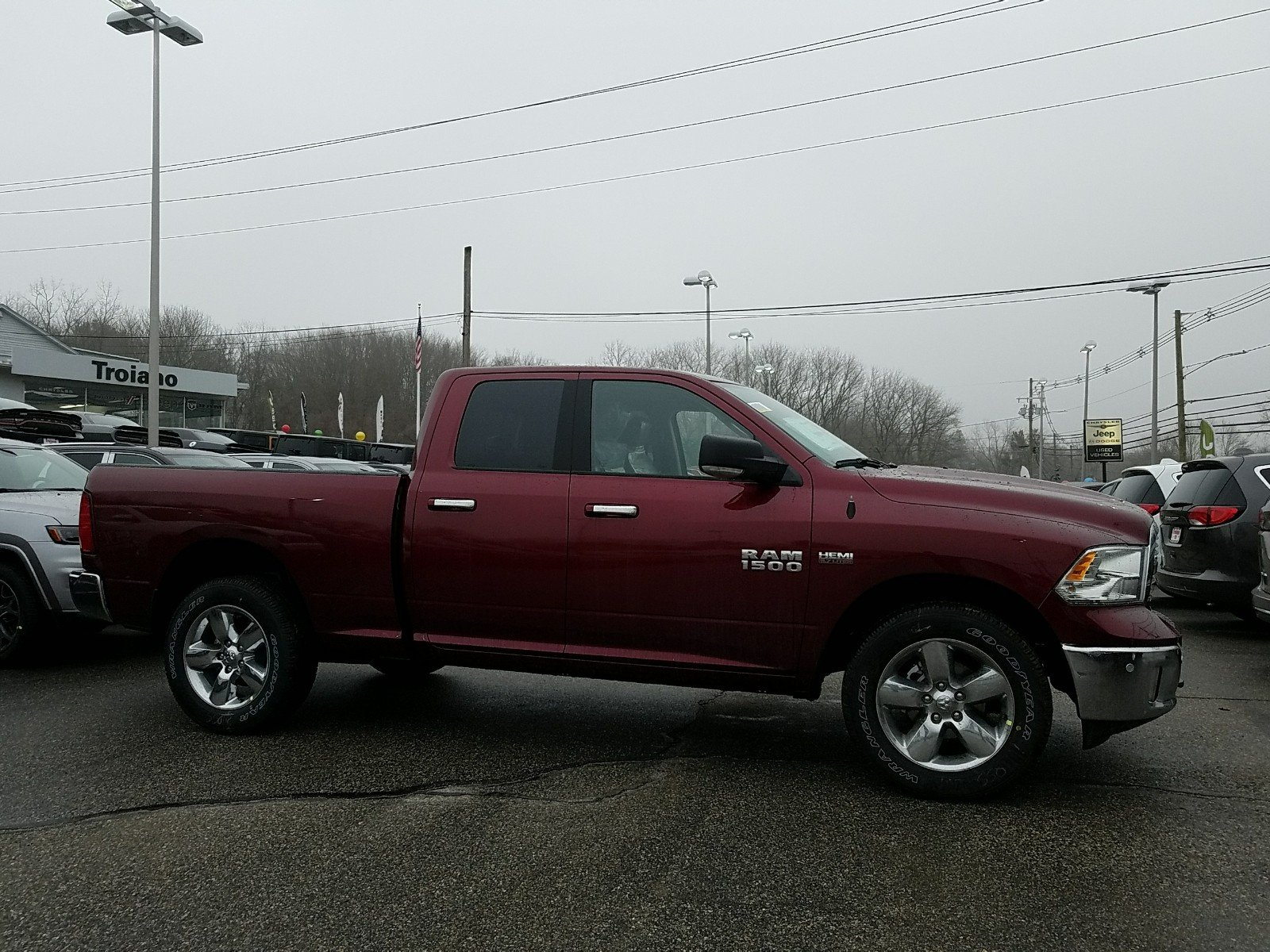 2018 Ram 1500 Quad Cab 4x4,  Pickup #R1486 - photo 3
