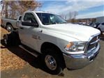 2018 Ram 3500 Regular Cab DRW 4x4, Cab Chassis #JG104563 - photo 1
