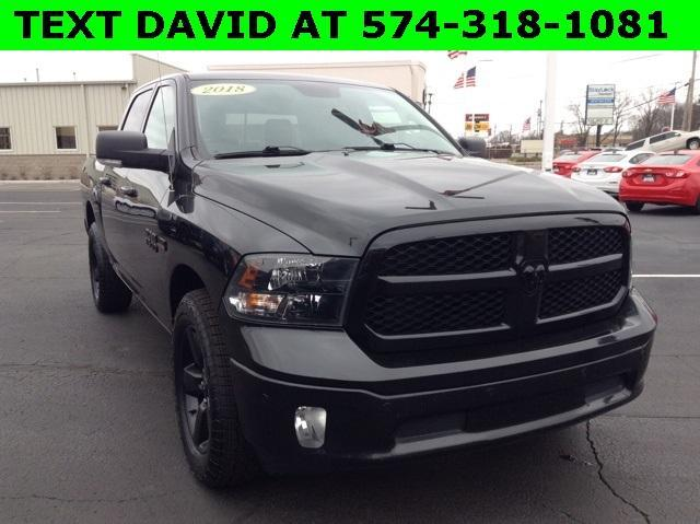 2018 Ram 1500 Crew Cab 4x4, Pickup #E1761P - photo 3