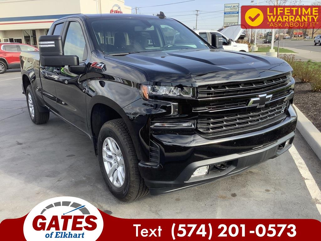 2020 Chevrolet Silverado 1500 Double Cab 4x4, Pickup #E2725P - photo 3