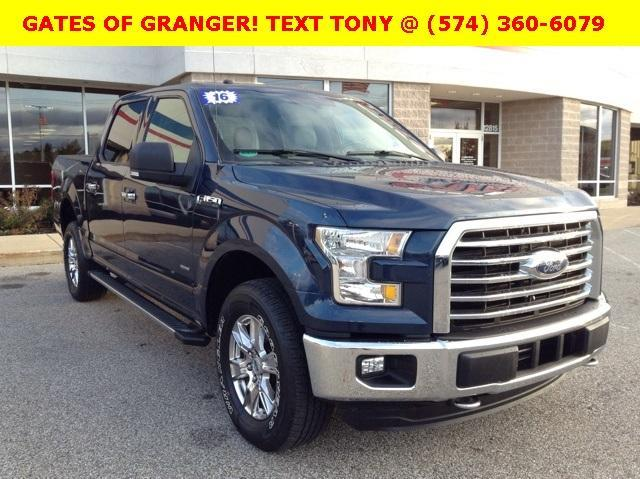 2016 F-150 SuperCrew Cab 4x4, Pickup #G6190P - photo 1