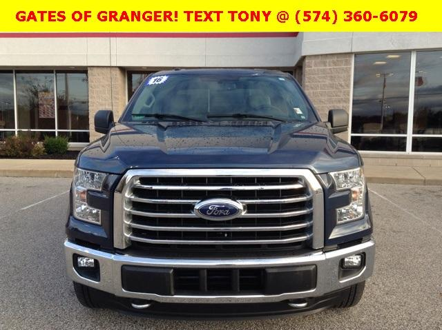 2016 F-150 SuperCrew Cab 4x4, Pickup #G6190P - photo 3