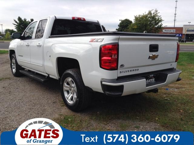 2018 Chevrolet Silverado 1500 Double Cab 4x4, Pickup #G7128P - photo 2