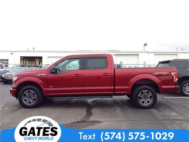 2016 F-150 SuperCrew Cab 4x4, Pickup #M4325P - photo 5