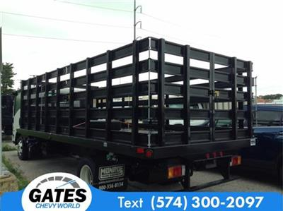 2017 LCF 4500HD Regular Cab 4x2, Monroe Versa-Line Stake Body Stake Bed #M4558 - photo 4