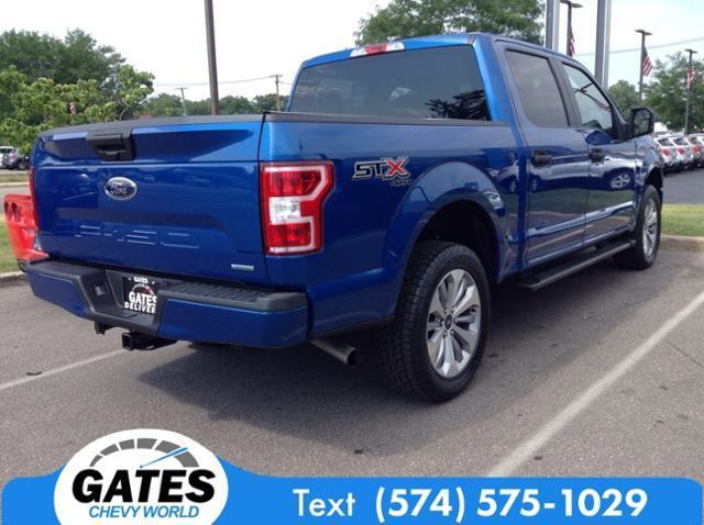 2018 Ford F-150 SuperCrew Cab 4x4, Pickup #M4720P1A - photo 7
