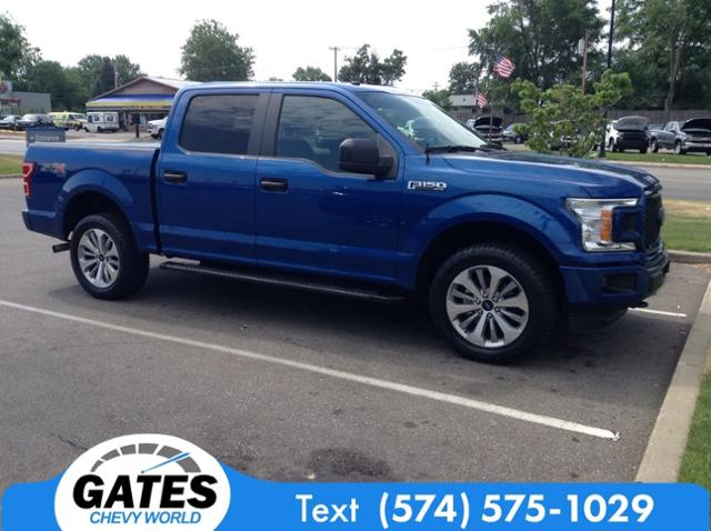 2018 Ford F-150 SuperCrew Cab 4x4, Pickup #M4720P1A - photo 8
