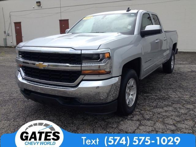 2018 Chevrolet Silverado 1500 Double Cab 4x4, Pickup #M5045P - photo 1
