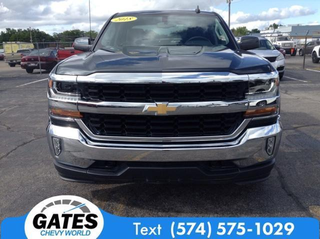 2018 Chevrolet Silverado 1500 Double Cab 4x4, Pickup #M5073P - photo 4