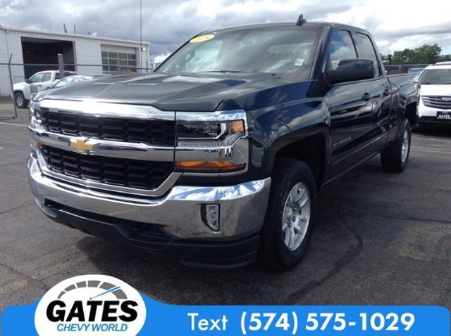 2018 Chevrolet Silverado 1500 Double Cab 4x4, Pickup #M5073P - photo 1