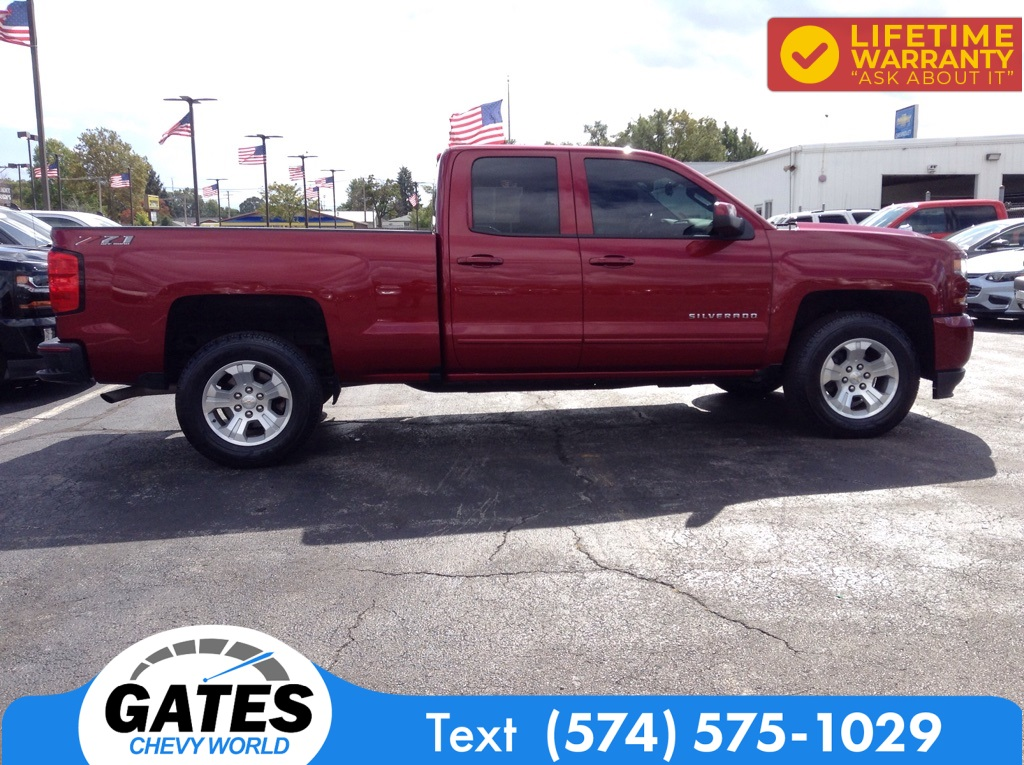2018 Chevrolet Silverado 1500 Double Cab 4x4, Pickup #M5311P - photo 9