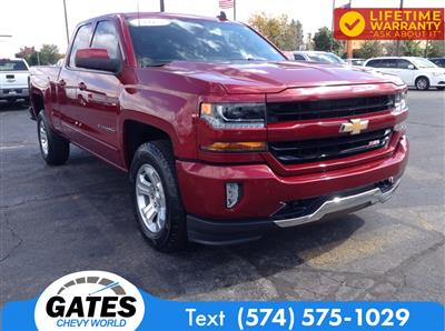 2018 Chevrolet Silverado 1500 Double Cab 4x4, Pickup #M5311P - photo 3