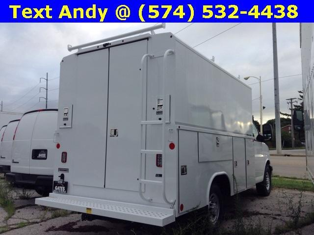 2019 Express 3500 4x2,  Reading Aluminum CSV Service Utility Van #M5413 - photo 4