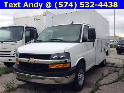 2019 Express 3500 4x2,  Reading Aluminum CSV Service Utility Van #M5413 - photo 1
