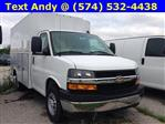 2019 Express 3500 4x2,  Reading Aluminum CSV Service Utility Van #M5413 - photo 3