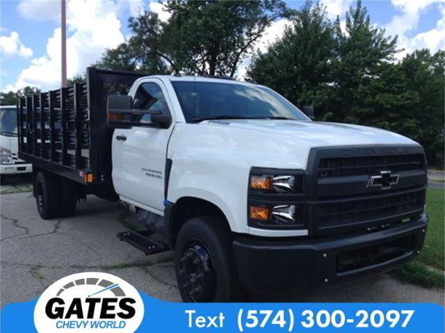 2019 Silverado Medium Duty DRW 4x2,  Monroe Work-A-Hauler II Stake Bed #M5431 - photo 3