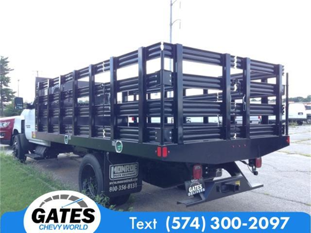 2019 Silverado Medium Duty DRW 4x2,  Monroe Stake Bed #M5431 - photo 1