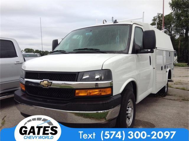 2019 Chevrolet Express 3500 4x2, Knapheide Service Utility Van #M5473 - photo 1