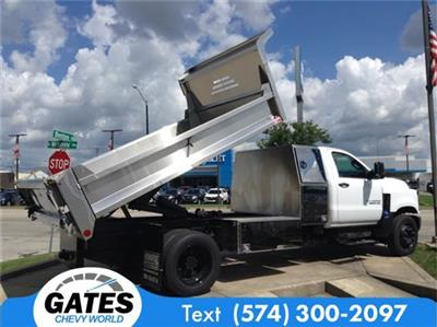 2019 Silverado 4500 Regular Cab DRW 4x2, Monroe MTE-Zee SST Series Dump Body #M5723 - photo 8