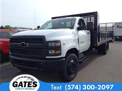 2019 Silverado 4500 Regular Cab DRW 4x2, Freedom GrassPro Dovetail Landscape #M5772 - photo 1