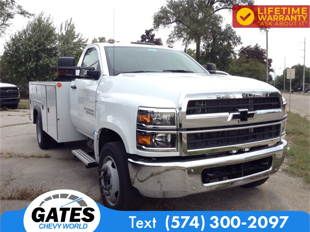 2019 Chevrolet Silverado 4500 Regular Cab DRW 4x2, Monroe MSS II Service Body #M5837 - photo 3