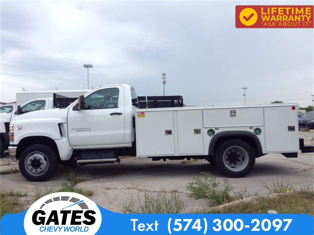 2019 Chevrolet Silverado 4500 Regular Cab DRW 4x2, Monroe MSS II Service Body #M5837 - photo 4