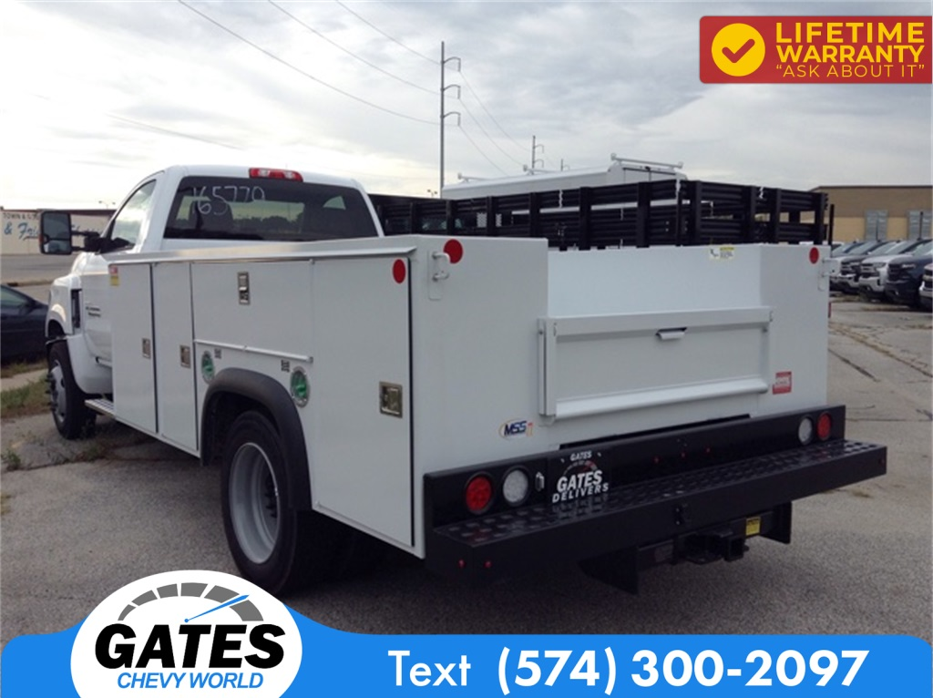 2019 Chevrolet Silverado 4500 Regular Cab DRW 4x2, Monroe Service Body #M5837 - photo 1