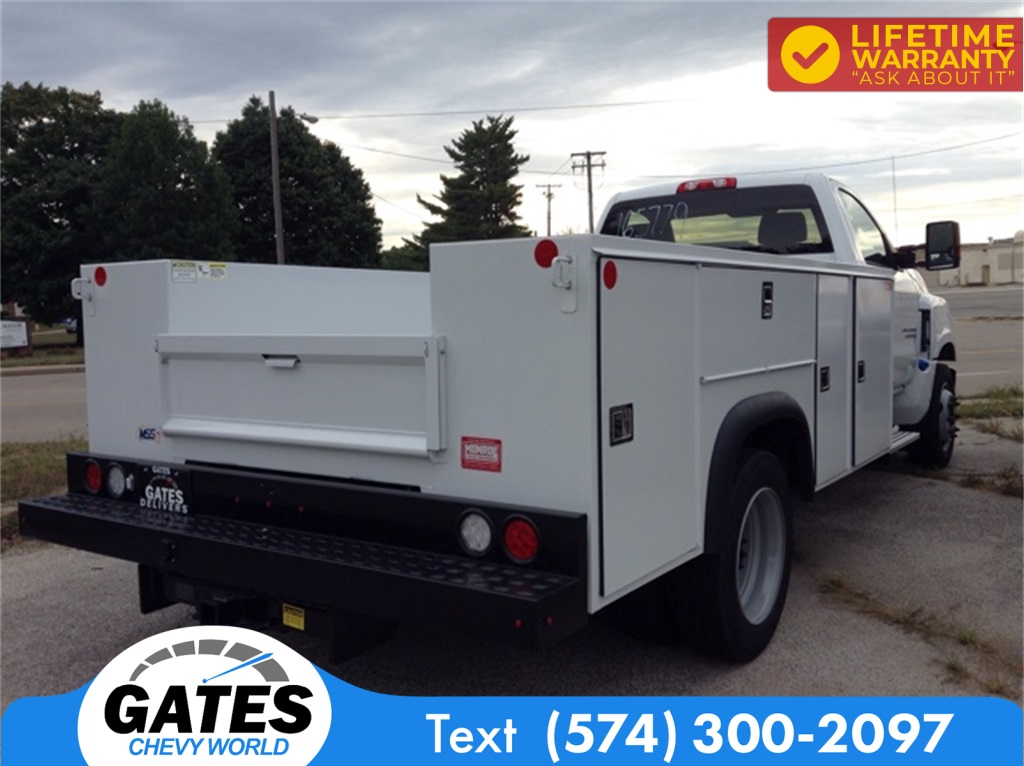 2019 Chevrolet Silverado 4500 Regular Cab DRW 4x2, Monroe MSS II Service Body #M5837 - photo 5