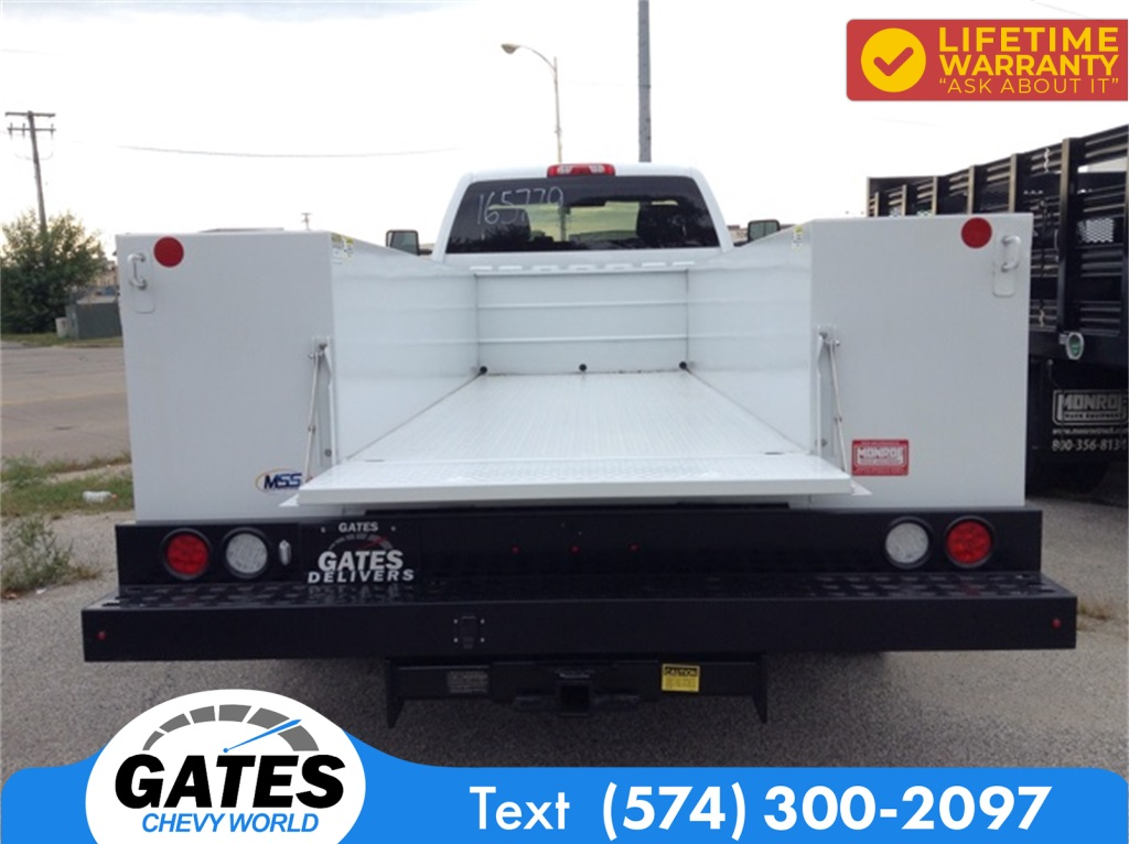 2019 Chevrolet Silverado 4500 Regular Cab DRW 4x2, Monroe MSS II Service Body #M5837 - photo 6
