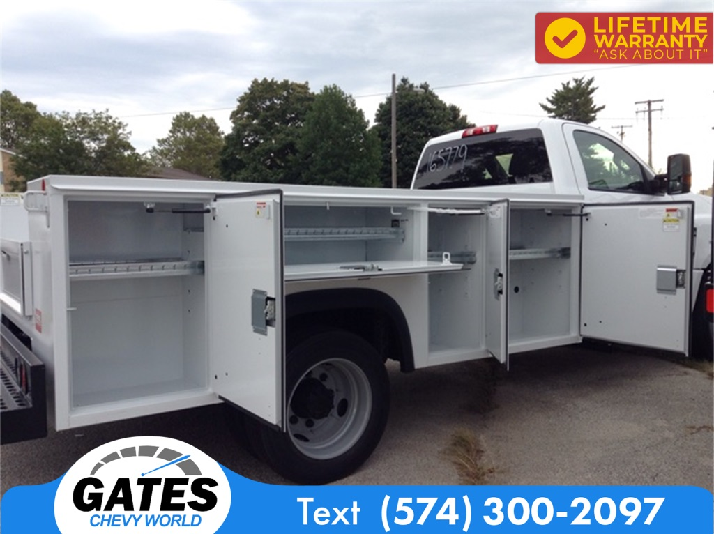 2019 Chevrolet Silverado 4500 Regular Cab DRW 4x2, Monroe MSS II Service Body #M5837 - photo 7