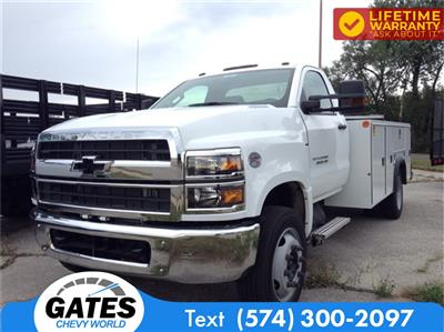 2019 Chevrolet Silverado 4500 Regular Cab DRW 4x2, Monroe MSS II Service Body #M5837 - photo 1
