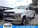 2019 Silverado 4500 Regular Cab DRW 4x2, Monroe MSS II Service Body #M5837 - photo 1