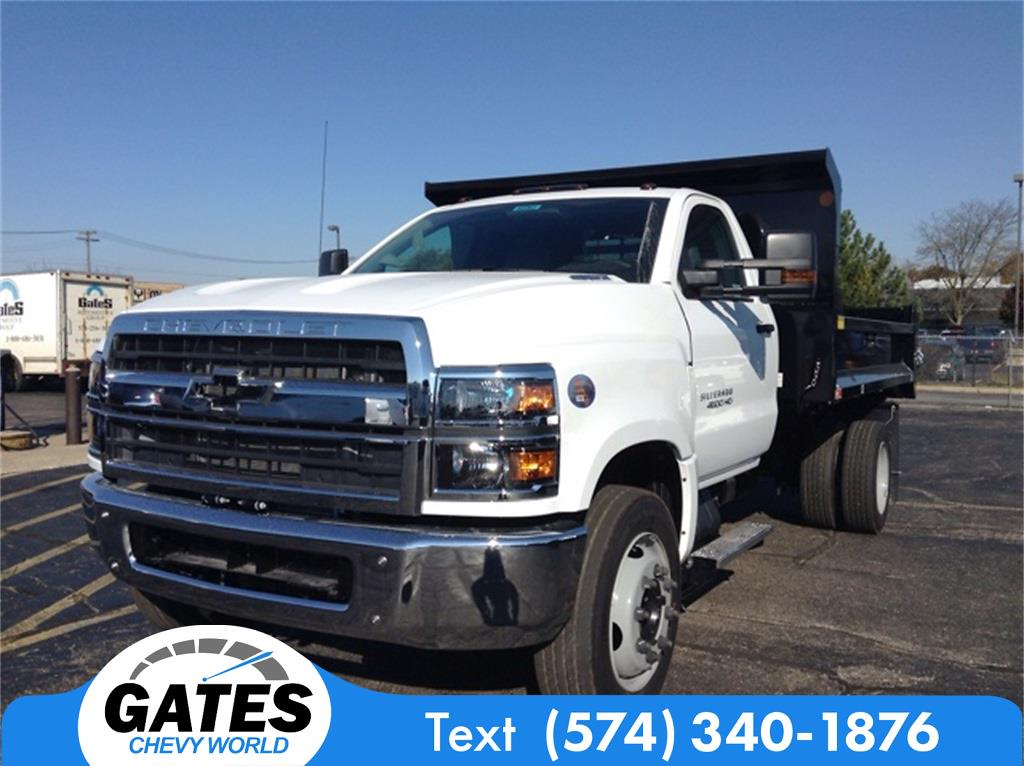 2019 Chevrolet Silverado 4500 Regular Cab DRW 4x2, Monroe Dump Body #M5963 - photo 1