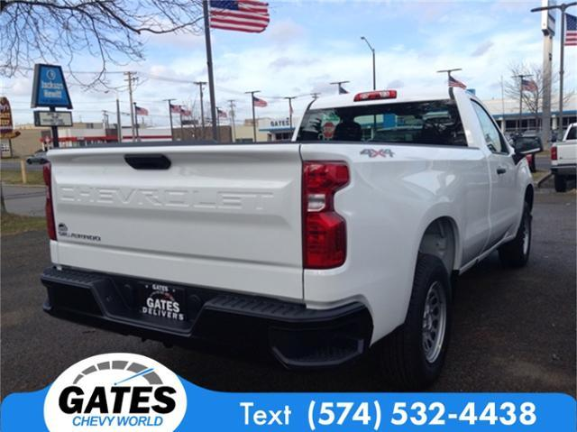 2020 Silverado 1500 Regular Cab 4x4, Pickup #M6158 - photo 4