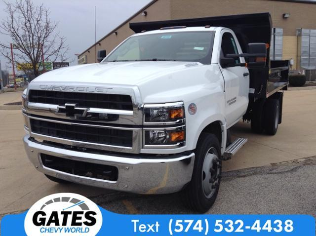 2019 Silverado 5500 Regular Cab DRW 4x2, Monroe Dump Body #M6195 - photo 1
