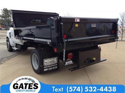2019 Silverado 5500 Regular Cab DRW 4x2, Monroe MTE-Zee Dump Body #M6195 - photo 2