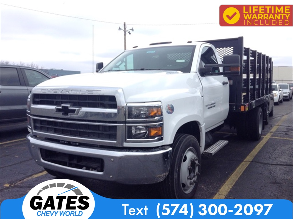 2019 Chevrolet Silverado 4500 Regular Cab DRW 4x2, Monroe Stake Bed #M6214 - photo 1