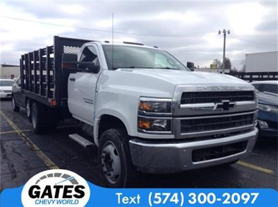2019 Silverado 4500 Regular Cab DRW 4x2, Stake Bed #M6214 - photo 3