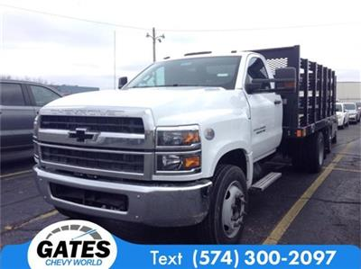 2019 Silverado 4500 Regular Cab DRW 4x2, Stake Bed #M6214 - photo 1