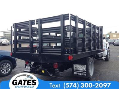 2019 Silverado 4500 Regular Cab DRW 4x2, Stake Bed #M6214 - photo 4